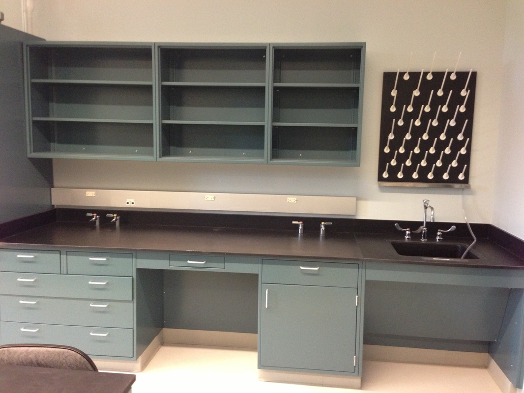 Lab Casework - KELLY CONTRACTING, INC.